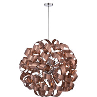 "Ribbons - Pendant satin copper  31""d - RBN2831SG"