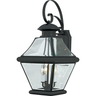 "Rutledge - Outdoor wall mystic black 11""w - RJ8411K"