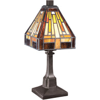 Stephen - Mini table lamp vintage bronze (4pack) - TF1018TVB