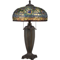 "Tiffany - Table lamp tiffany 16""d - TF1487T"