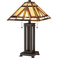 Tiffany - Table lamp tiffany russet - TF2095TRS