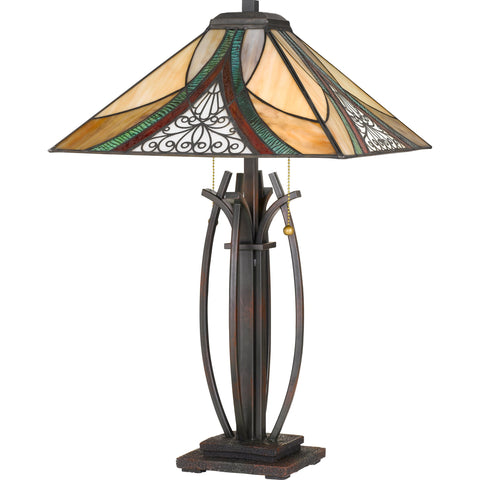 "Tiffany - Table lamp tiffany 16""sq - TF3342TVA"