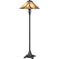 Asheville - Floor lamp 2lt valiant bronze - TFAS9360VA