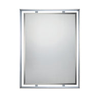 "Uptown Ritz - Mirror polished chrome 34""h x 26""w - UPRZ53426C"