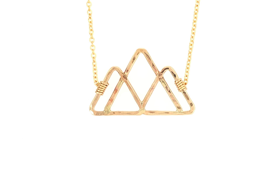 Out Here Yoga Triangle Sabina Necklace