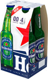 Heineken 100% Alcohol Free (Pack of 4 Bottles)
