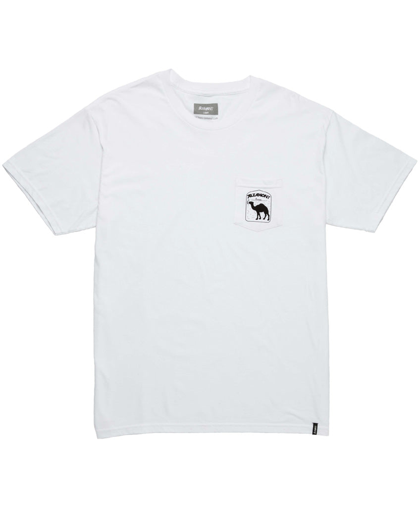 CAMEL POCKET TEE