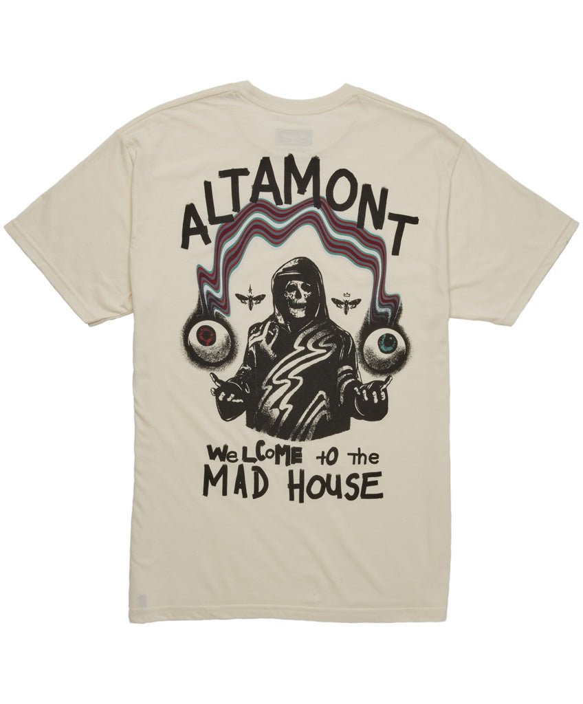 WELCOME TO THE MADHOUSE TEE