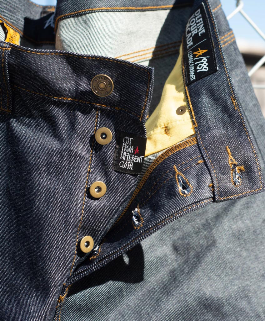 A/989 DENIM SELVEDGE