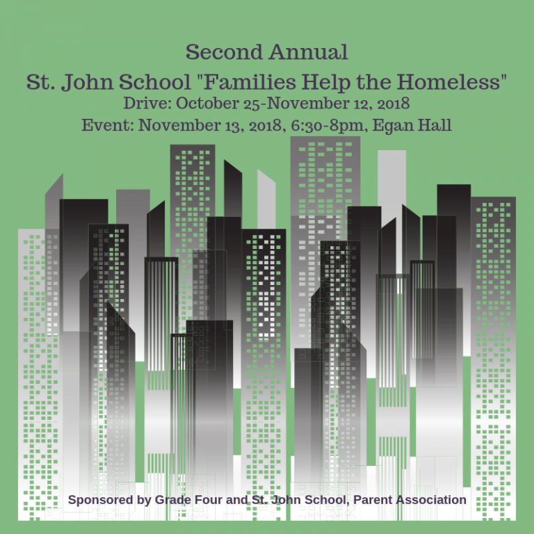 St. John Families Help the Homeless