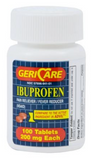 McKesson Pain Medication 200mg Strength Ibuprofen
