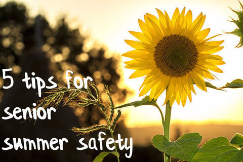 5 Safety Tips for Older Adults in the Summer