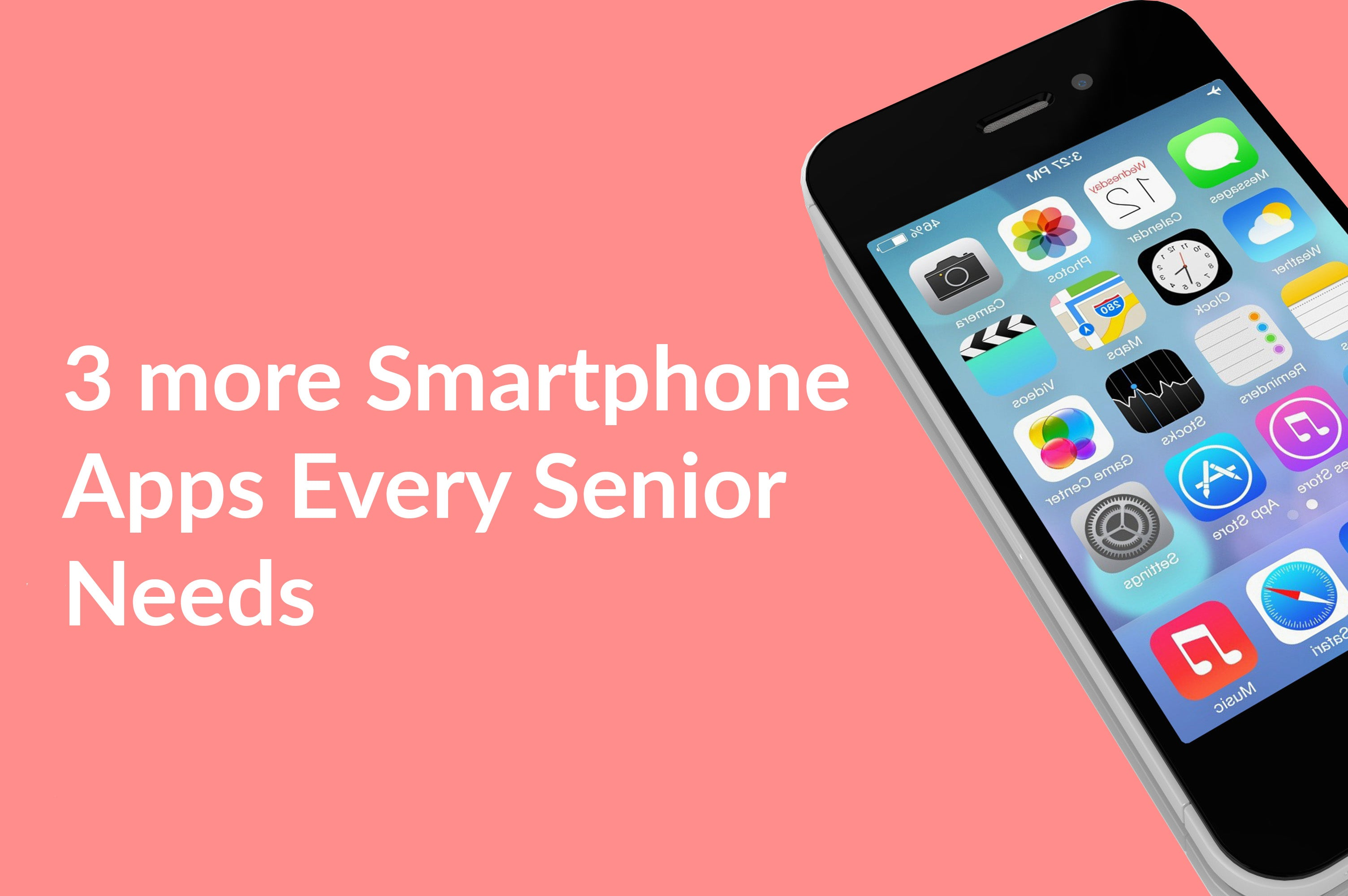 Top 3 Phone Apps for Seniors with Impaired Hearing or Sight (Part 3)