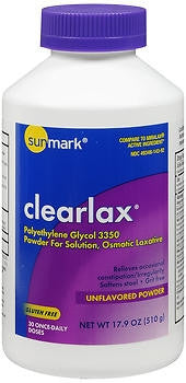 Sunmark® 8.3 oz. Unflavored Laxative Powder