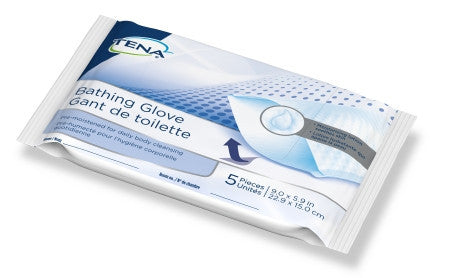Tena® Rinse-Free Bathing Glove Wipes - Soft Pack