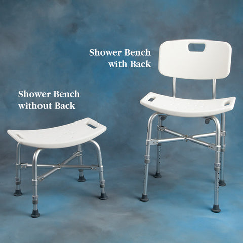 Bariatric Shower Bench w/ Back