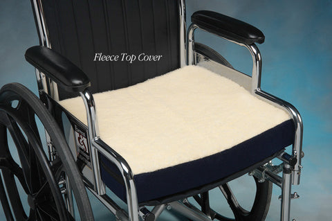 Gel Foam Wheelchair Cushion 16x18x3 1/2