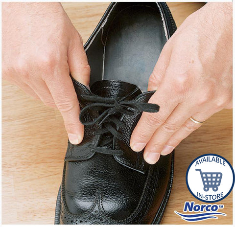 Norco Elastic Shoelaces 24 in White (2)