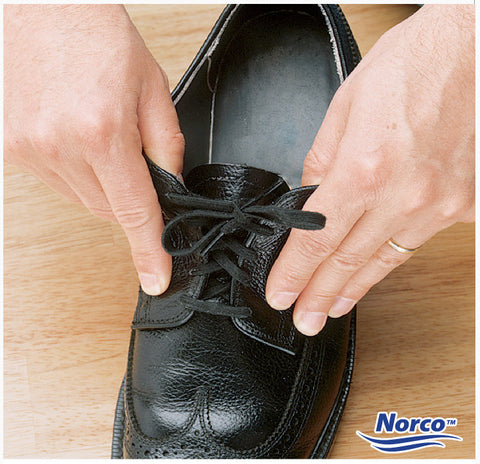 Norco Dlx Elastic Laces, Black 27 in (2)