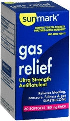 Sunmark® Gas Relief 180 mg Strength Softgel