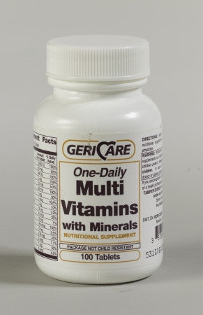 McKesson Brand Multivitamin with Minerals Supplement Tablet