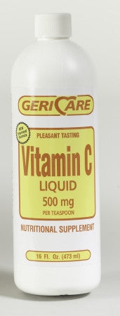 McKesson Brand Vitamin C Supplement 500 mg Strength Liquid 16 oz