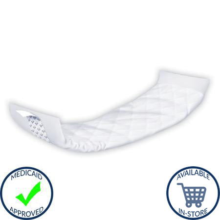 Incontinence Liner Dignity® Stackables® 15 Inch Length Light Absorbency Polymer Unisex Disposable