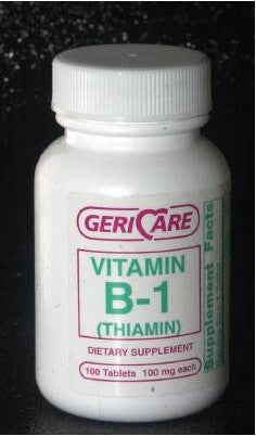 McKesson Brand Vitamin B-1 Supplement 100 mg Strength Tablet
