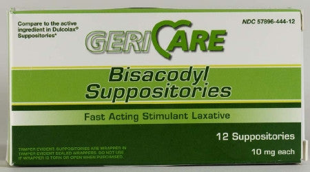 McKesson Brand 10 mg Laxative Suppository