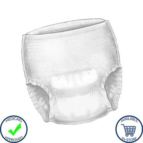 Sure Care™ Unisex Pull On Absorbent Underwear - Disposable, Heavy Absorbency