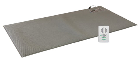 "TL-2100B with FM-07 - 24""x48"" (gray) floor mat with breakaway cord - 1 year warranty"