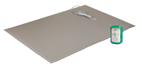 "TL-2100E with FM-05 - 24""x36"" (gray) floor mat with breakaway cord - 1 year warranty"