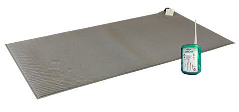 "TL-2100G Quiet CordLess® Fall Prevention Monitor with FMT-07C - 24""x48"" (gray) CordLess® floor mat - 1 year warranty"