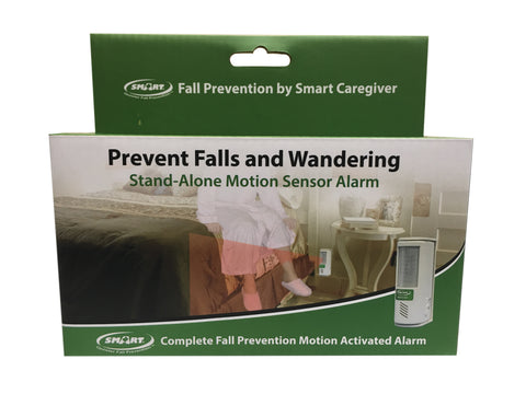 Motion Sensor Alarm with swivel bracket - in retail packaging with batteries included
