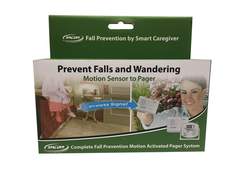 Motion Sensor and Pager (one-to-one system) - in retail packaging with batteries included