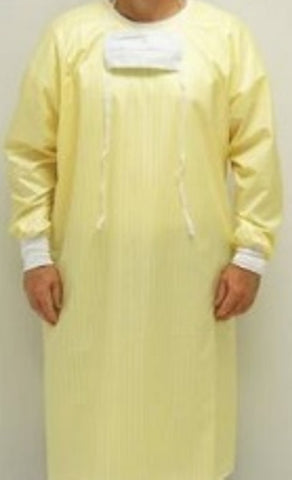 Precaution Gown, Full Barrier, Reusable, 1 Ea