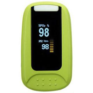 Simpro Fingertip Pulse Oximeter with Two Color OLED Display (SIMSHO1002)