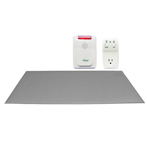 "Smart Outlet with FMT-SMS07C and 433-EC - 24""x48"" (gray) CordLess® floor mat - 1 year warranty"