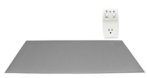 "Smart Outlet with FMT-SMS07C - 24""x48"" (gray) CordLess® floor mat - 1 year floor mat"