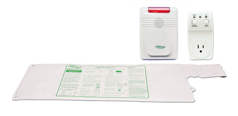 "Smart Outlet with GBT-SMSRI and 433-EC - 10""x30"" CordLess® - 1 year bed pad"