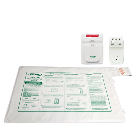 "Smart Outlet with GBT-SMSWI and 433-EC - 20""x30"" CordLess® - 1 year bed pad"