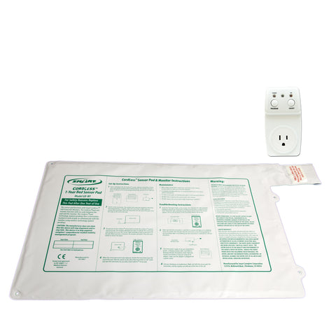 "Smart Outlet with GBT-SMSWI - 20""x30"" CordLess® - 1 year bed pad"