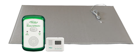 "TL-2016R with FM-05 and TL-2016P - 24""x36"" (gray) floor mat with breakaway cord and LCD pager"