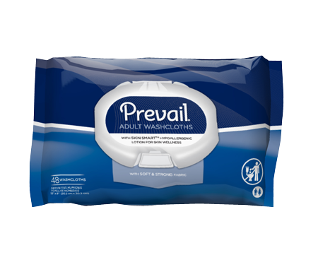 Prevail® Personal Wipe Soft Pack Aloe / Vitamin E Scented
