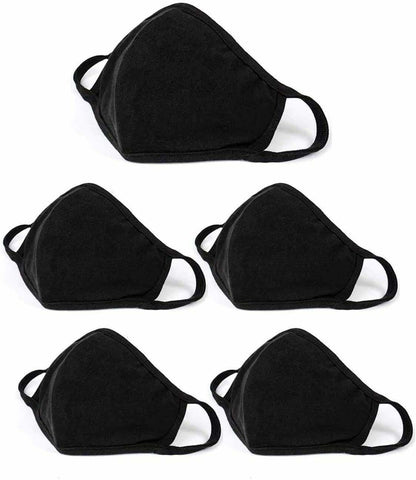 Mask, Reusable Cloth Face Mask, Adult size, 5/ package Non Medical