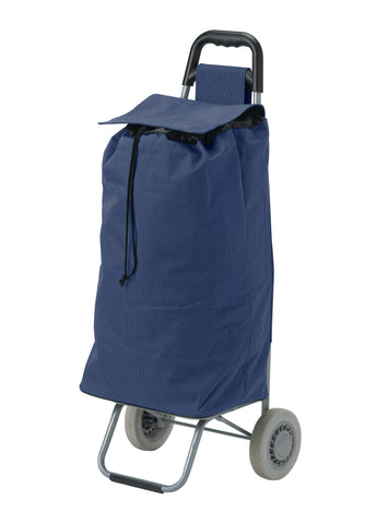 All Purpose Rolling Shopping Utility Cart, Blue