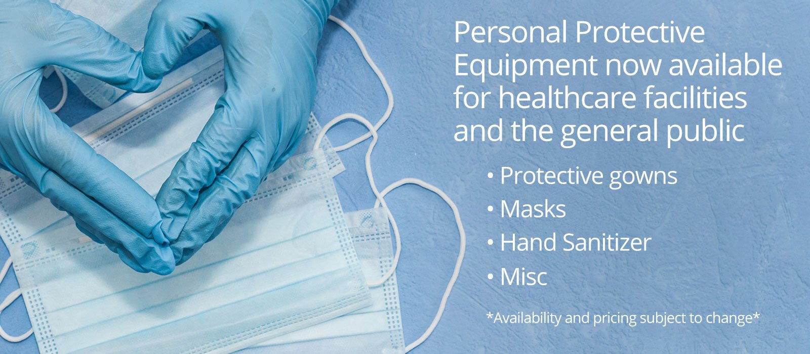Personal Protective Equipment Sale