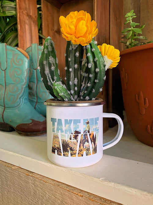Take Me Away camp mug