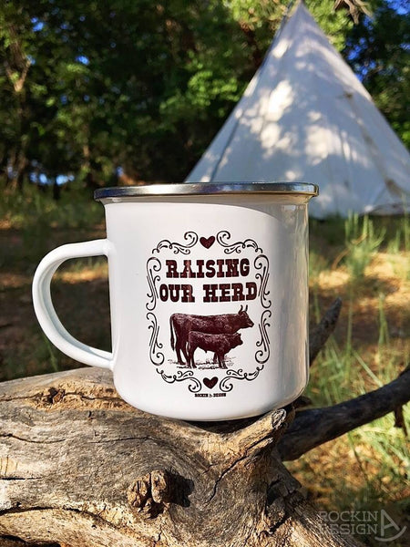 Save The Drama For Ya Brahma! Brahman bull camp mug