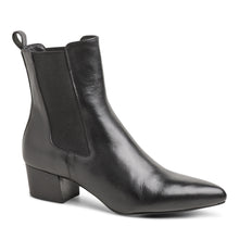 The Mercer Boot - Black Leather